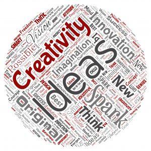 Ideas word cloud image