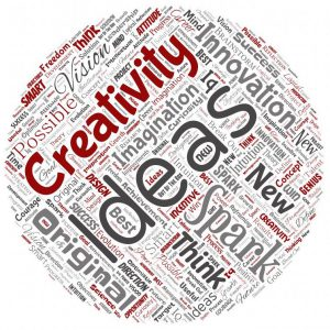 Photo illustration of creativity and ideas