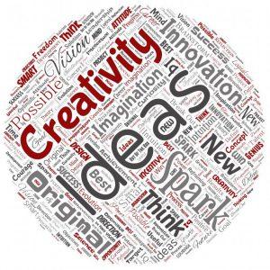 Photo illustration of creativity and ideas